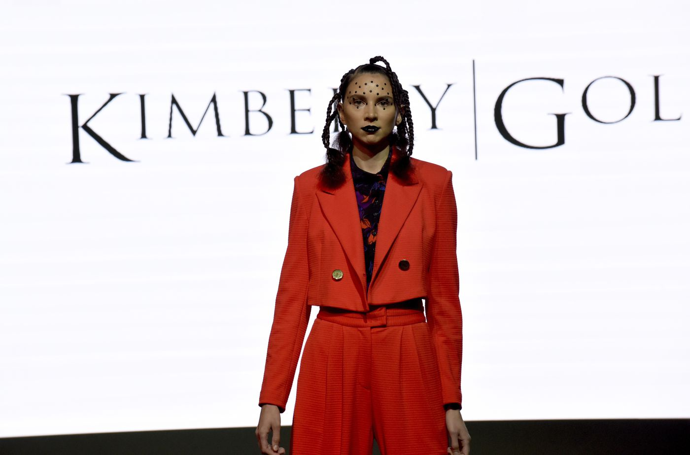 93147978d25 The Kimberly Goldson collection is modeled at the Harlem Fashion Row show  and awards ceremony before