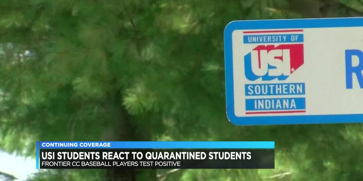 USI Students react to quarantined student organization, several cases attributed to Frontier Com. College Baseball Team