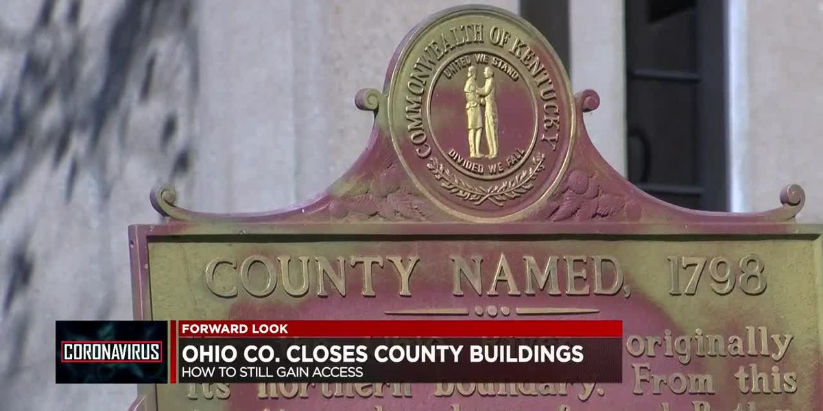 Ohio Co. closes off county buildings to prevent spreading COVID-19