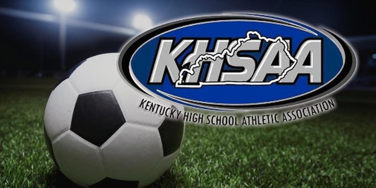 Lyon Co. vs Henderson Co. boys 2nd Region soccer highlights