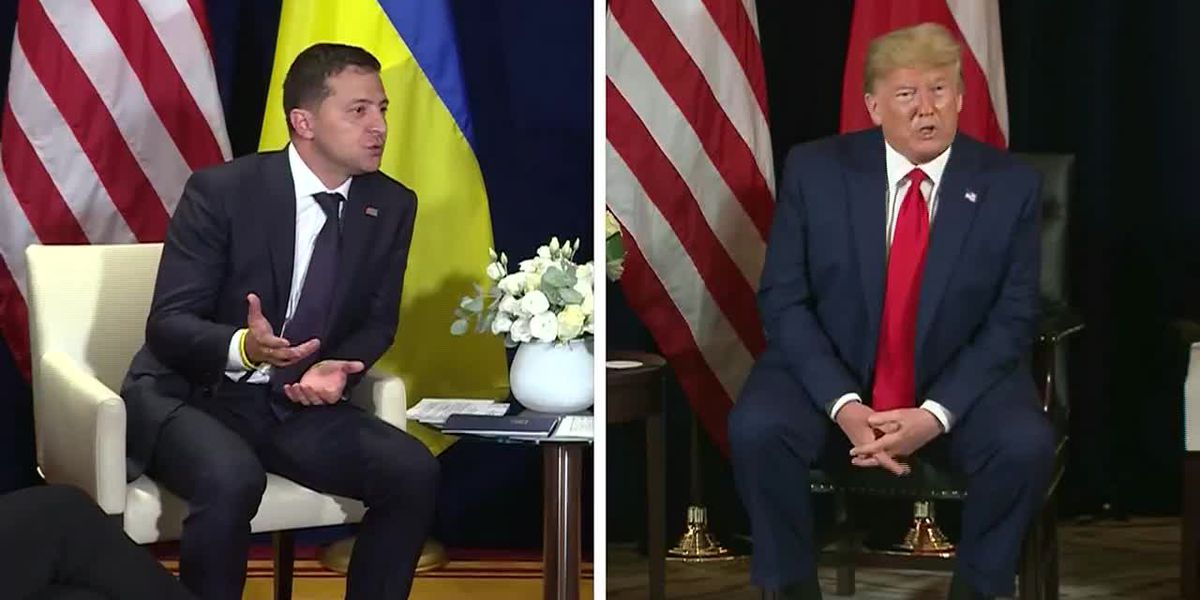 White House releases transcript of Trump's call with Ukraine