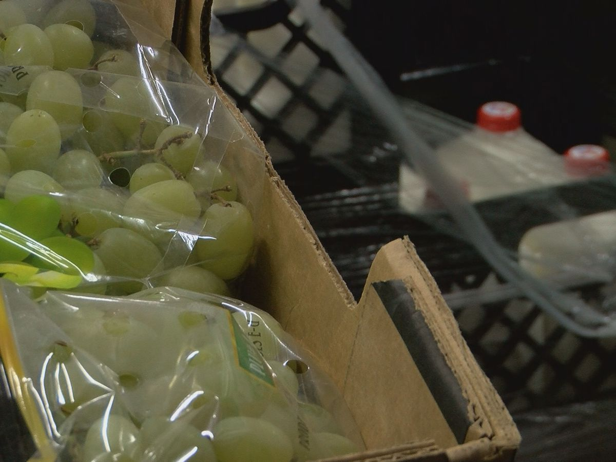 Tri-State Food Bank experiencing food surplus