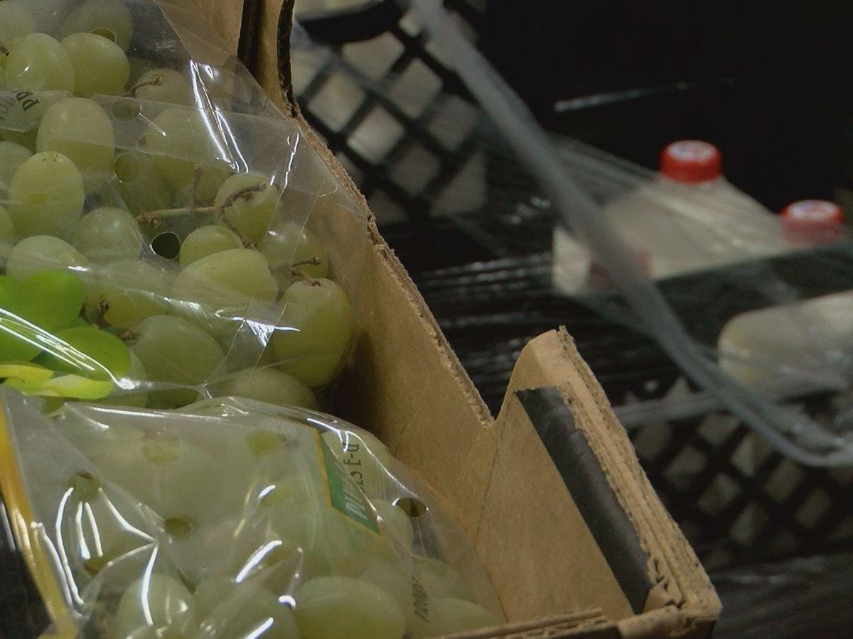 Tri-State Food Bank experiencing food surplus