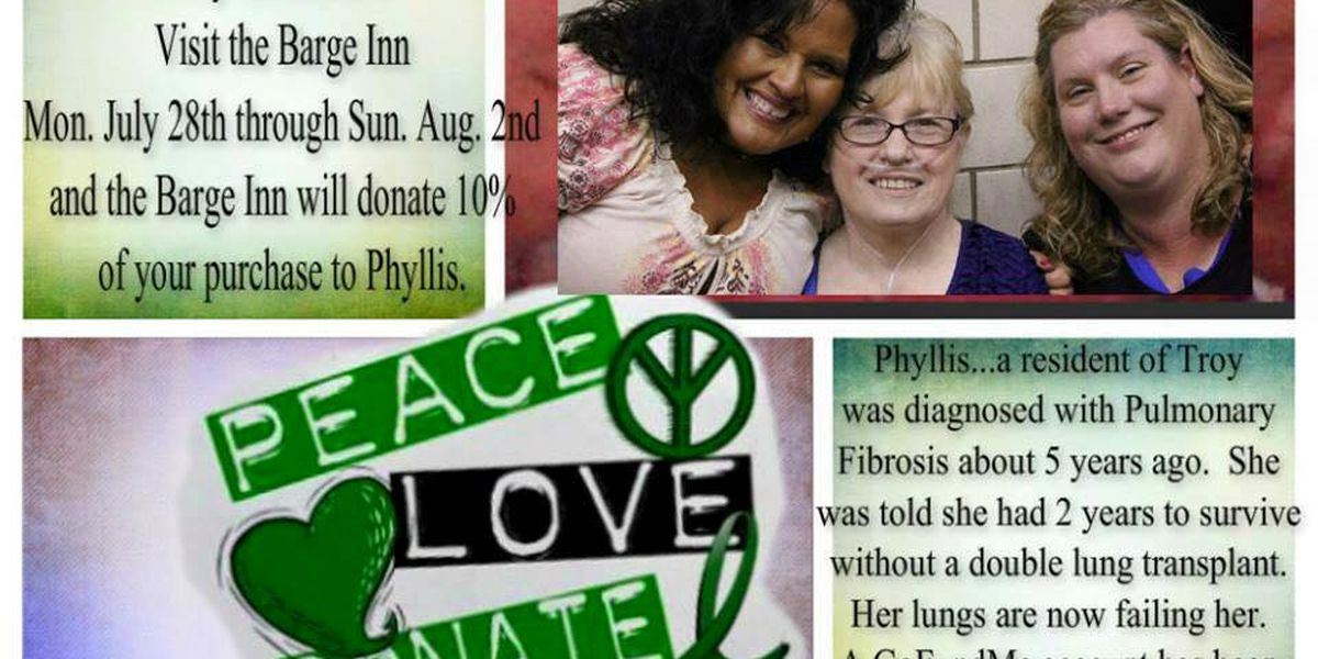 Fundraiser for Perry County woman who needs lung transplant