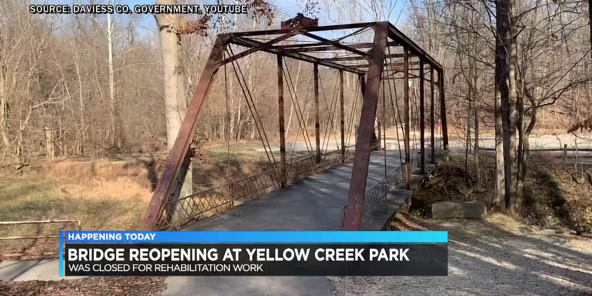 Historic bridge planned to reopen at Yellow Creek Park