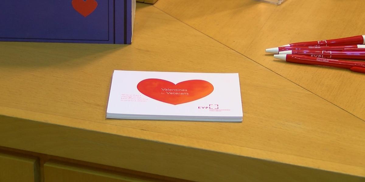 Write a valentine for a veteran