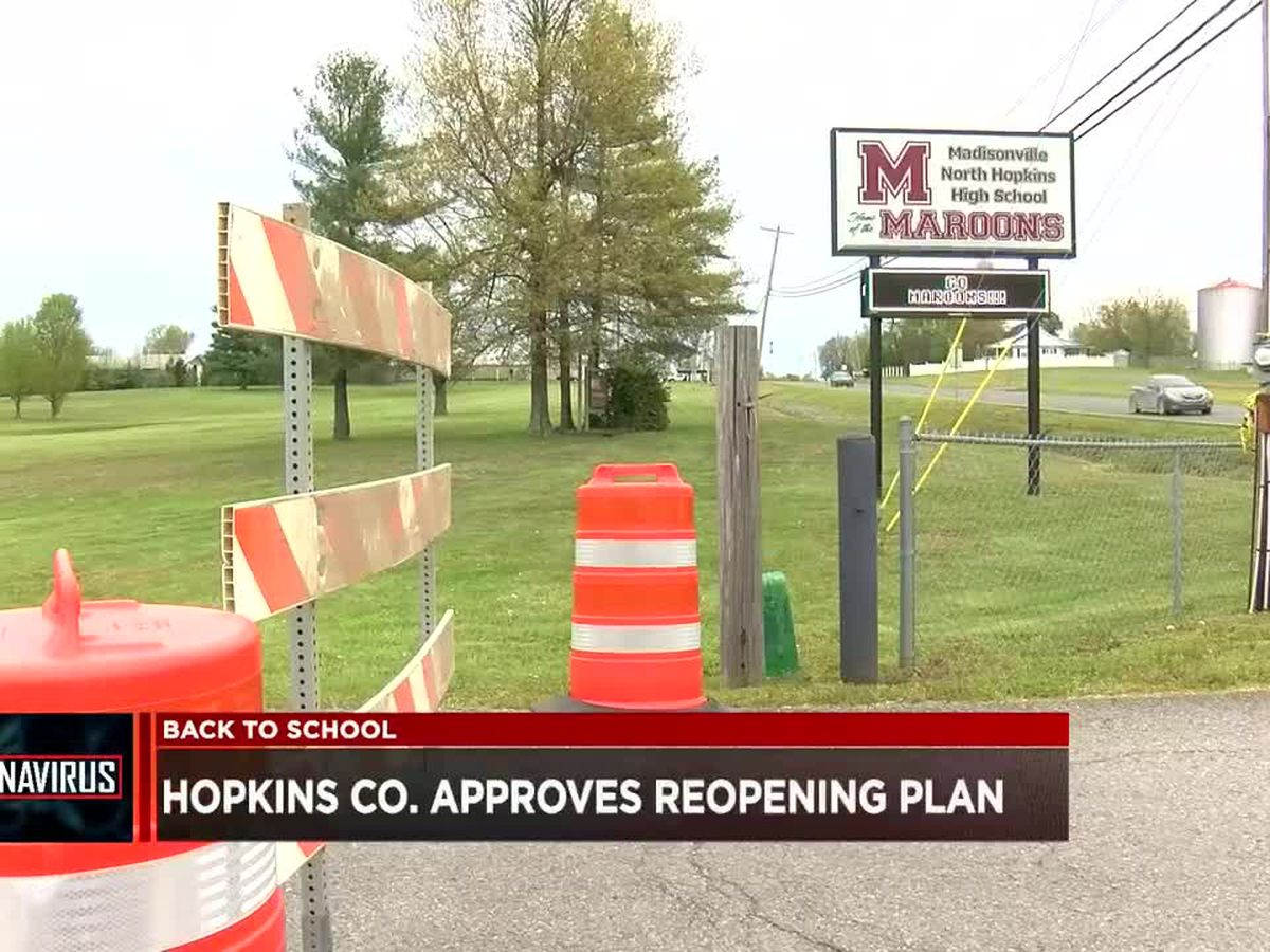 Hopkins Co. schools approve reopening plan