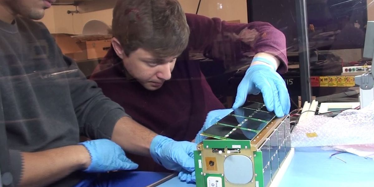 Satellite made by USI students launched into space