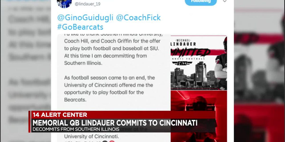 Memorial's Lindauer commits to UC