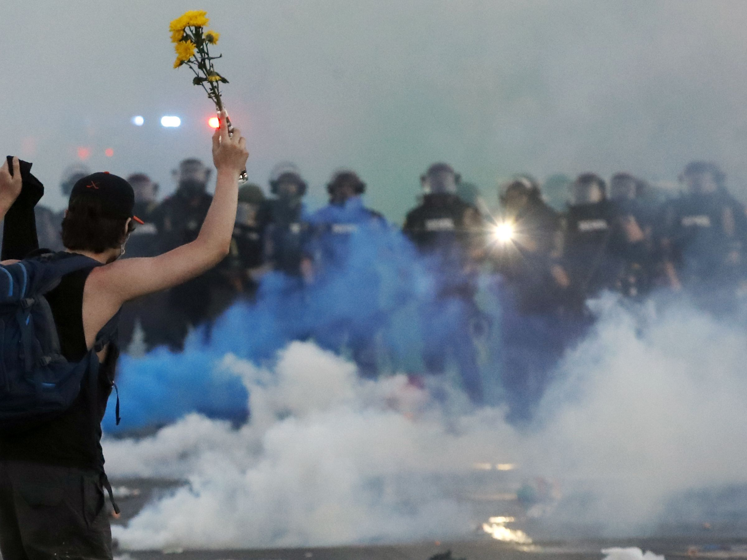GRAPHIC: US cities assess protest damage, await another day of unrest