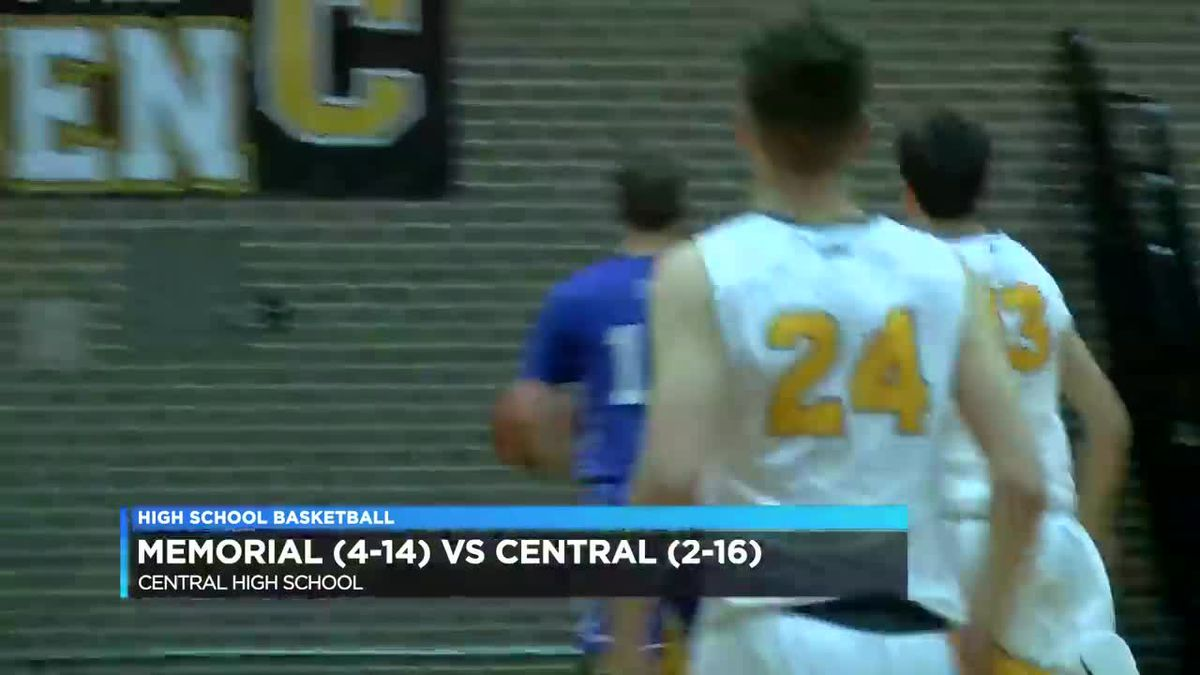 Memorial vs Central boys basketball highlights