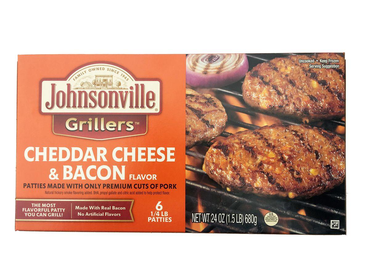 Johnsonville recalls frozen pork patties that may contain rubber