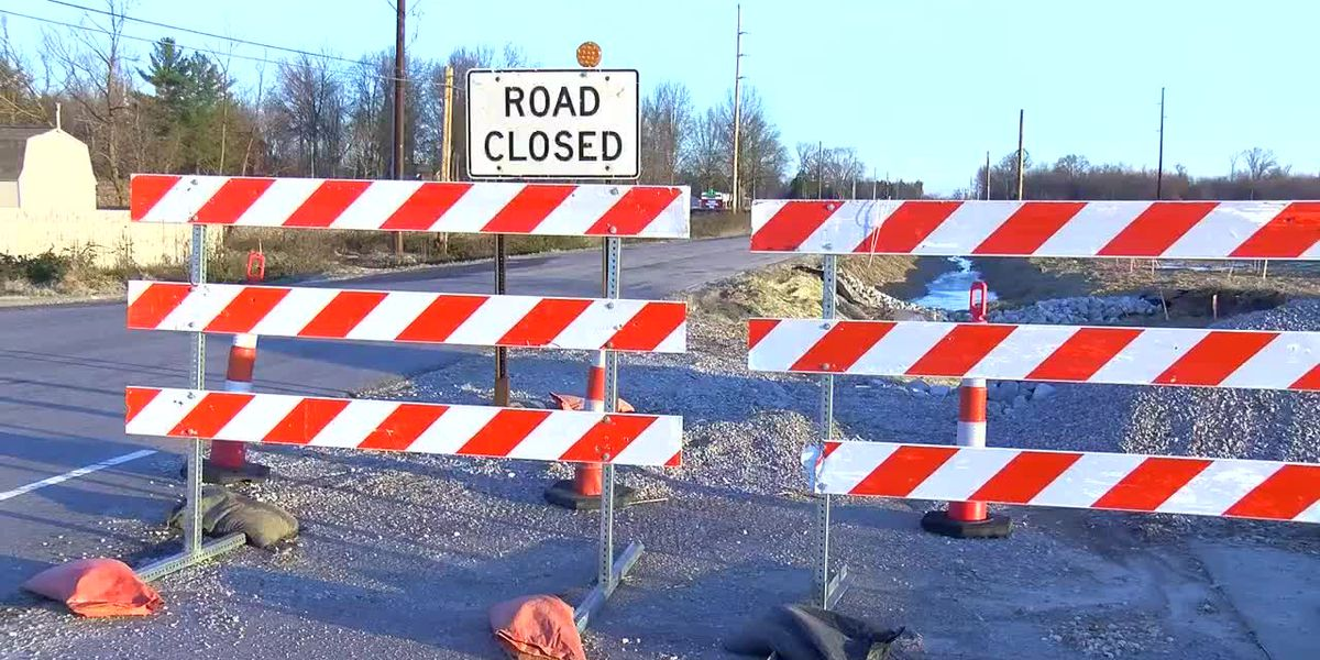Section of Green River Rd. closed till Friday