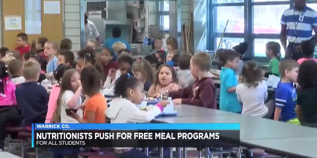 Nutritionists pushing free meal programs for students