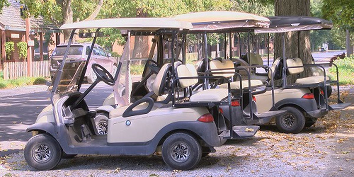 Town of New Harmony working to educate visitors on golf cart rules of the road