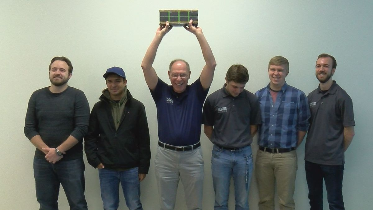 USI students make history with UNITE CUBE SAT deployment