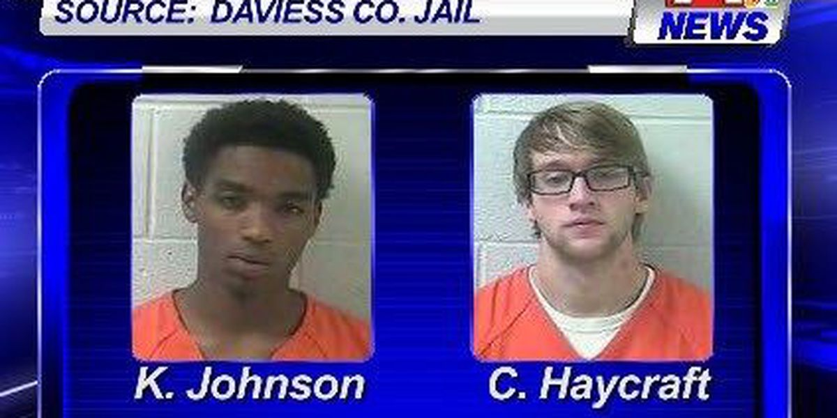 Two Daviess Co. men jailed after traffic stop
