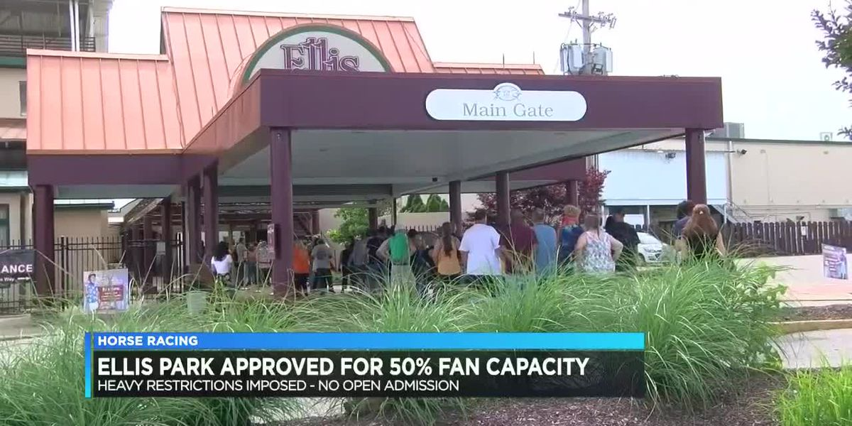 Ellis Park approved for 50% fan capacity during summer meet