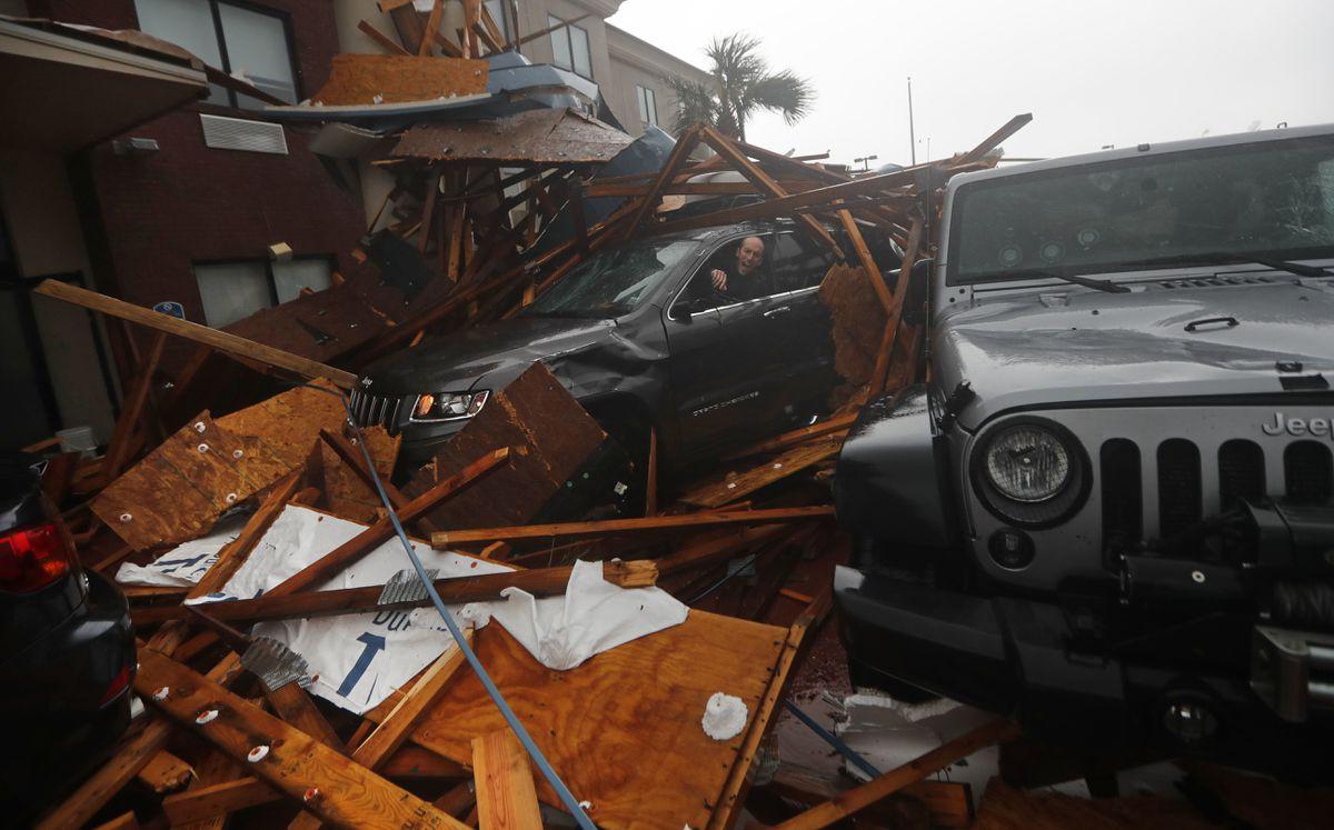 Hurricane Michael Pounds Florida Panhandle As Powerful