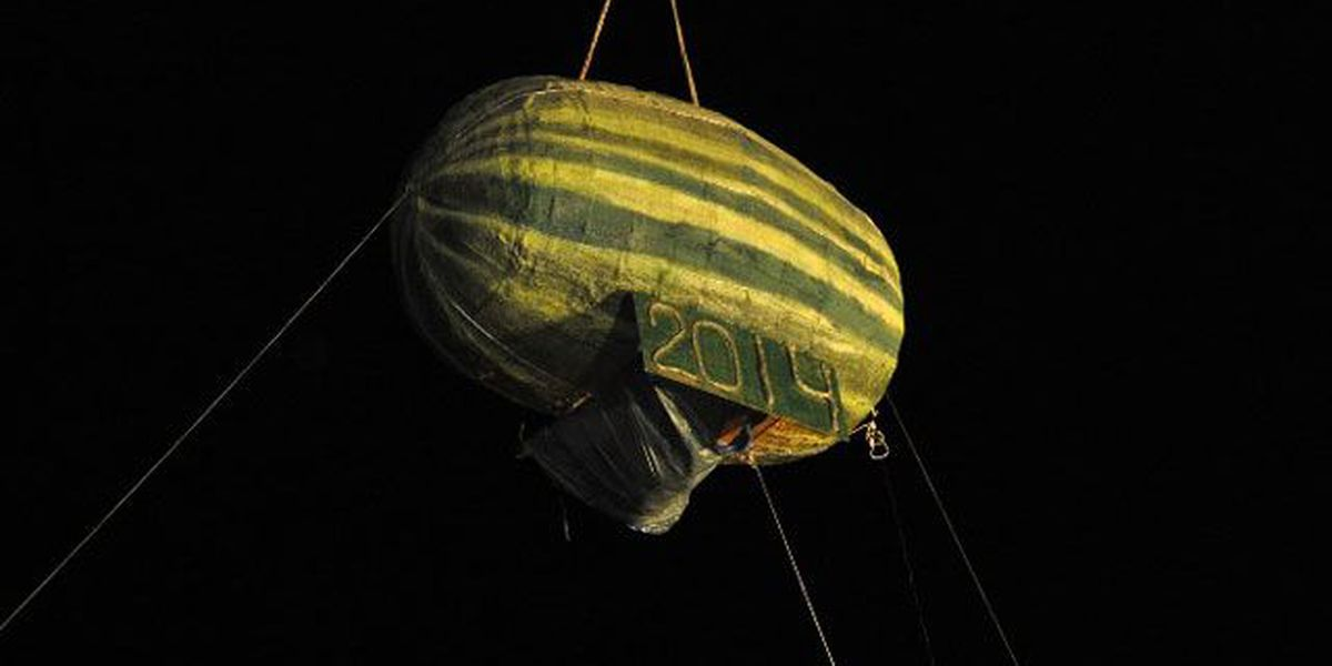 Vincennes' watermelon drop marking its 10th New Year's Eve
