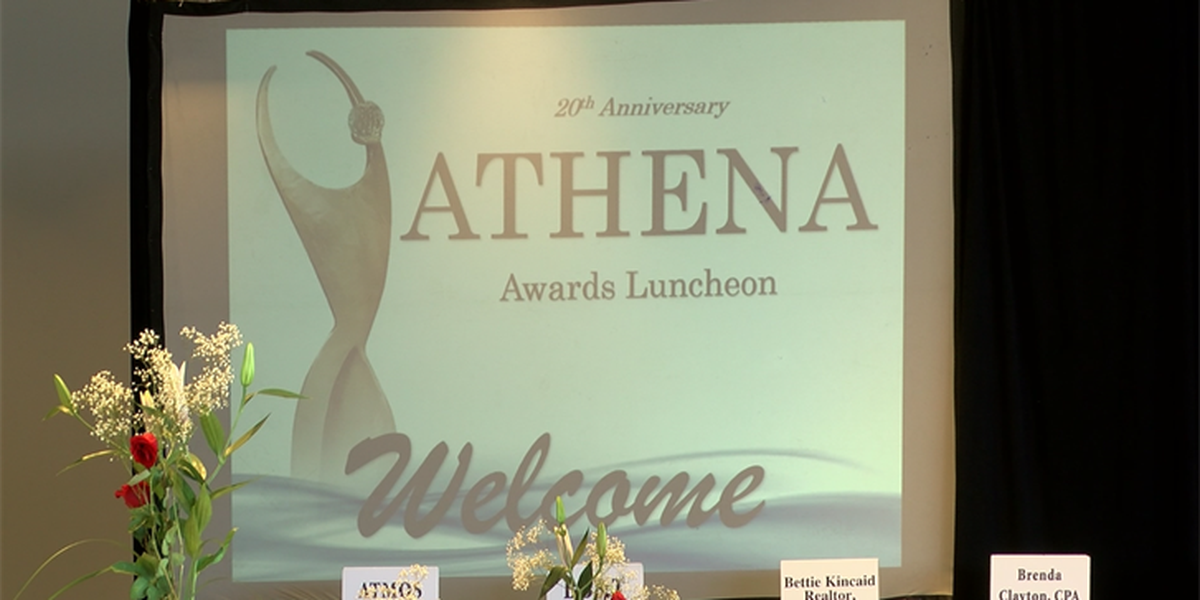 Hundreds attend 20th annual ATHENA Awards