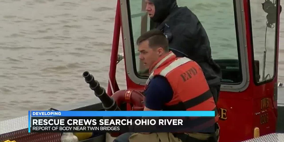 Rescue crews find nothing after report of possible body in Ohio River