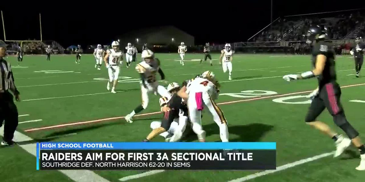 Southridge football aims for first 3A sectional title