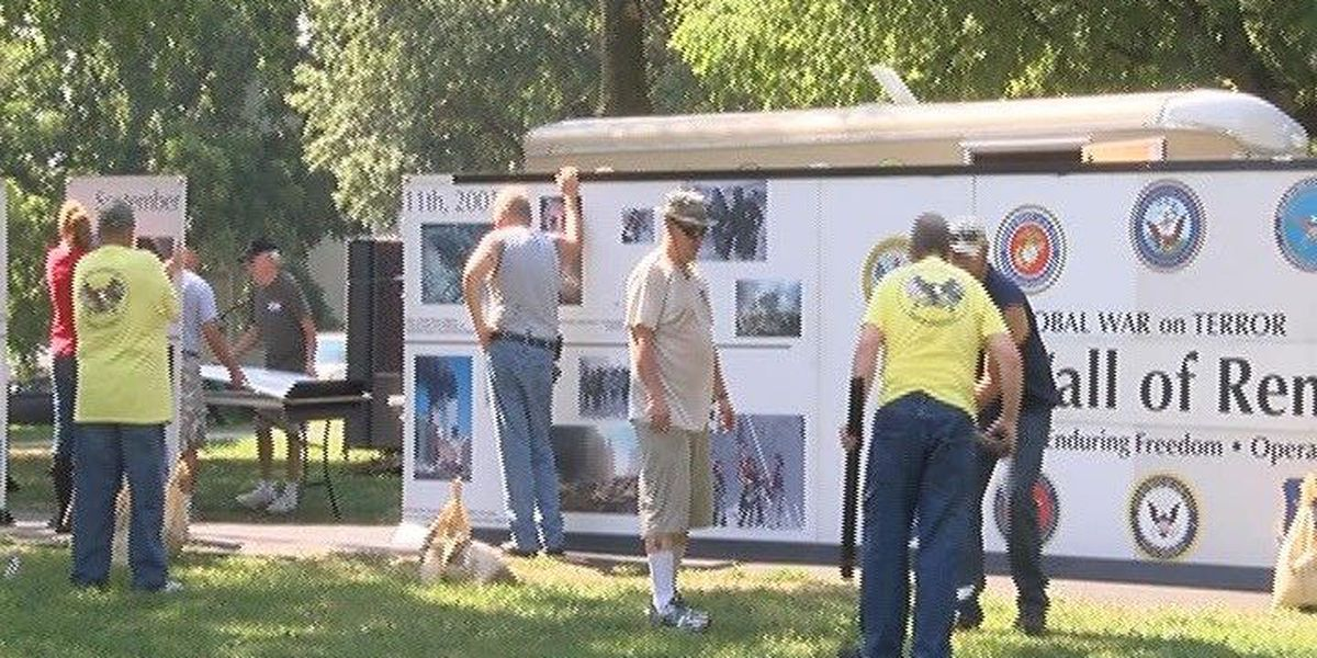Walls that Heal on display in Evansville