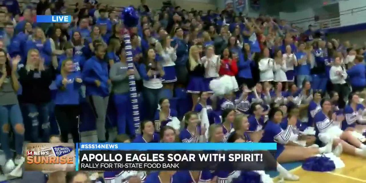 Apollo Eagles soar onto Sunrise School Spirit, pt. 3