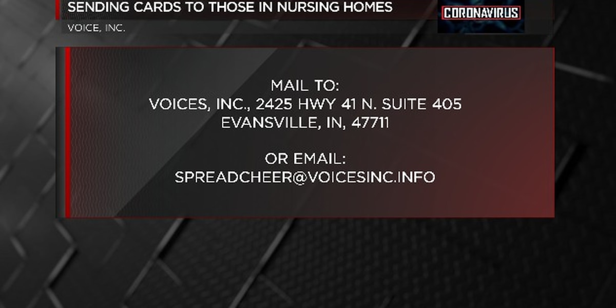 Group starting campaign to send cards to local nursing homes