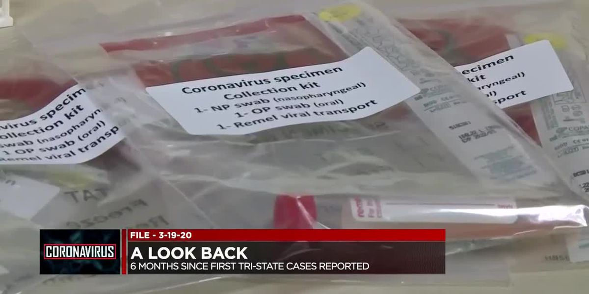 Saturday marks 6 months since 1st confirmed COVID-19 cases in Tri-State