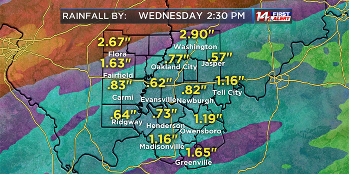 Heavy rainfall a threat for the Tri-State this week.