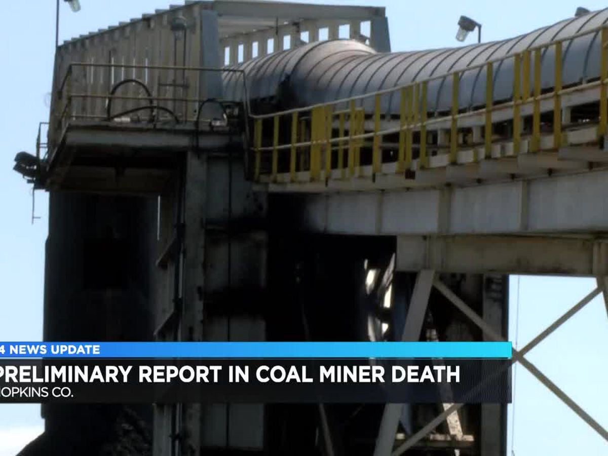 Preliminary report released in Hopkins Co. coal death