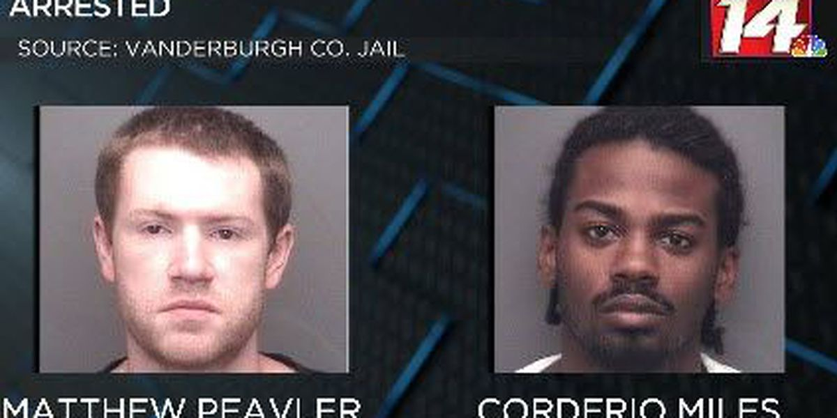 Two Evansville men jailed on drug charges