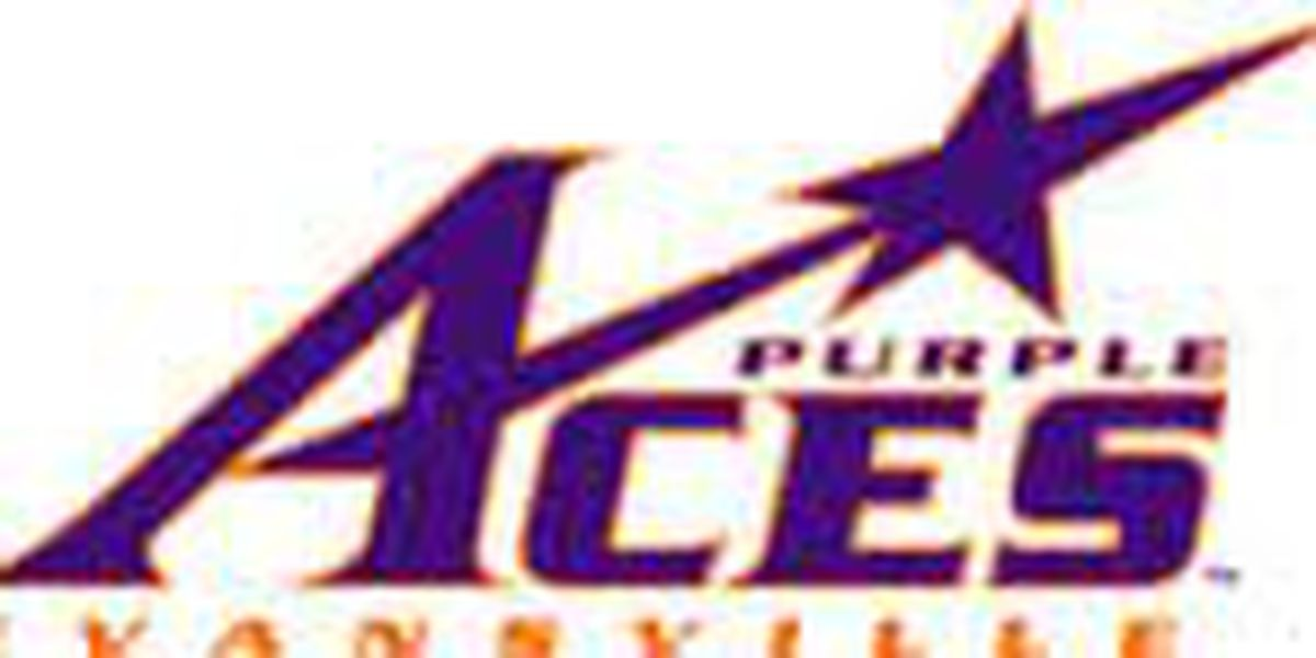 Brown, Benzon Lead Aces to First Road Win