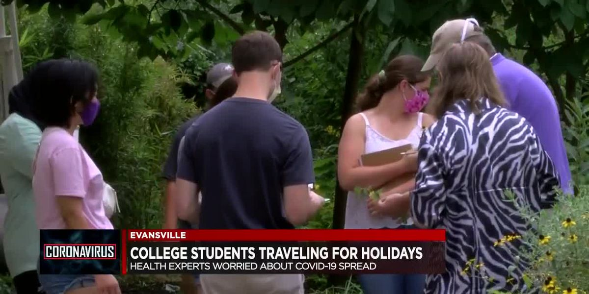 Health experts worry about COVID-19 spread when college students travel for holidays