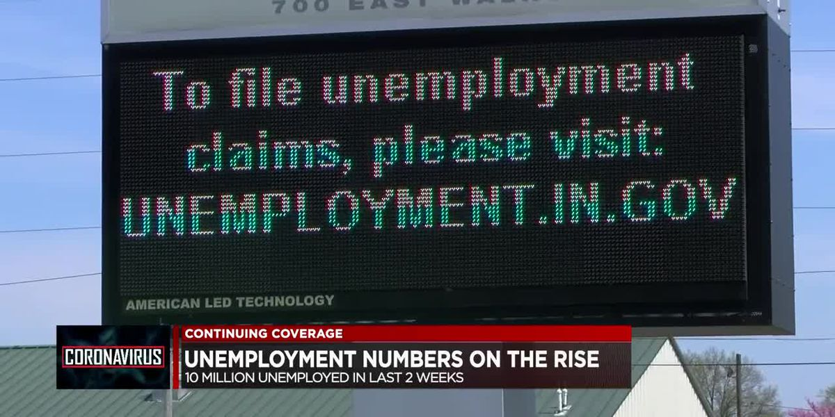 Nearly 10 million Americans file for unemployment in last 2 weeks
