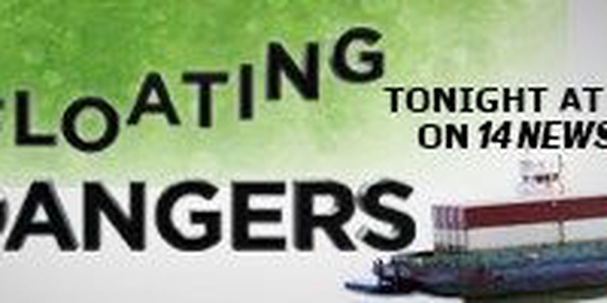Floating Dangers - Tonight on 14NEWS at 10