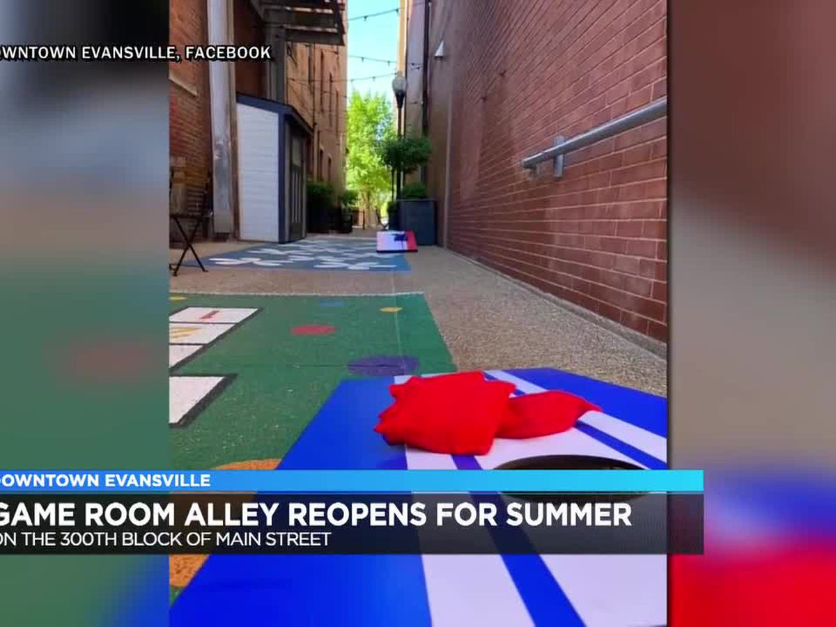 Game Room Alley in downtown Evansville reopens for summer