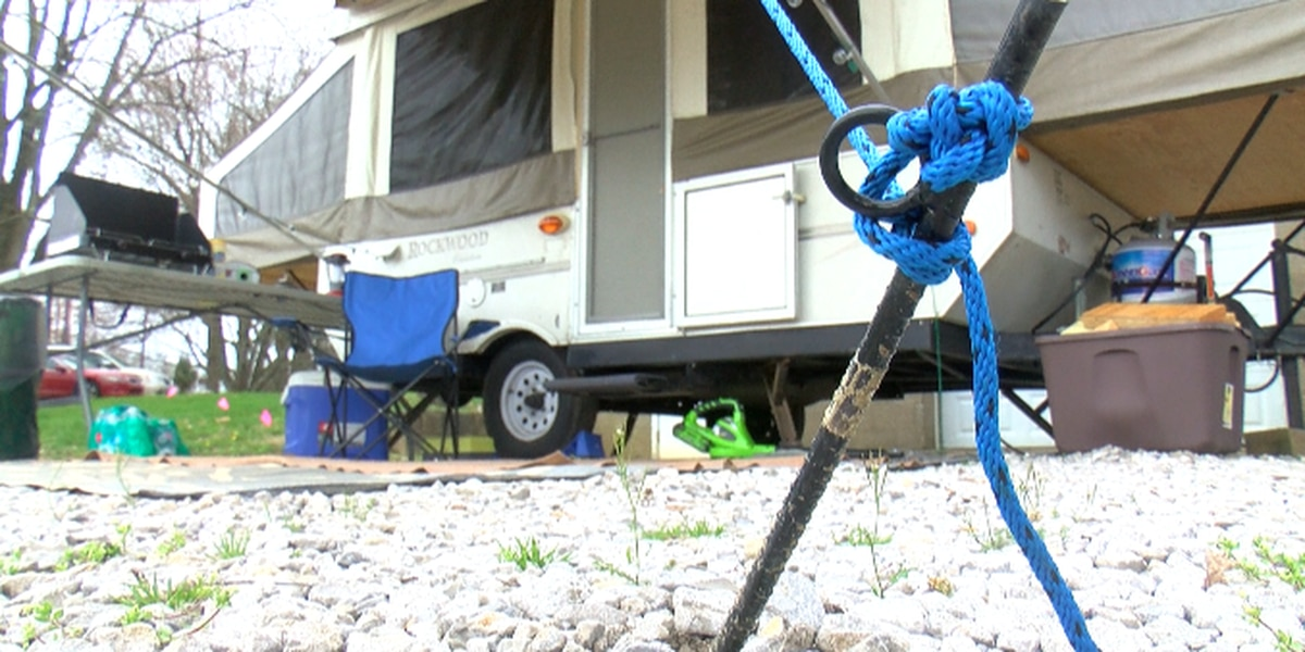Bethel Manor employee camps out to ensure resident safety amid COVID-19 pandemic