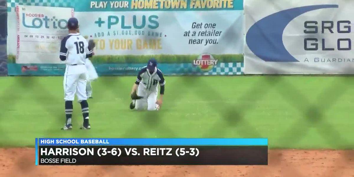 Harrison vs Reitz baseball
