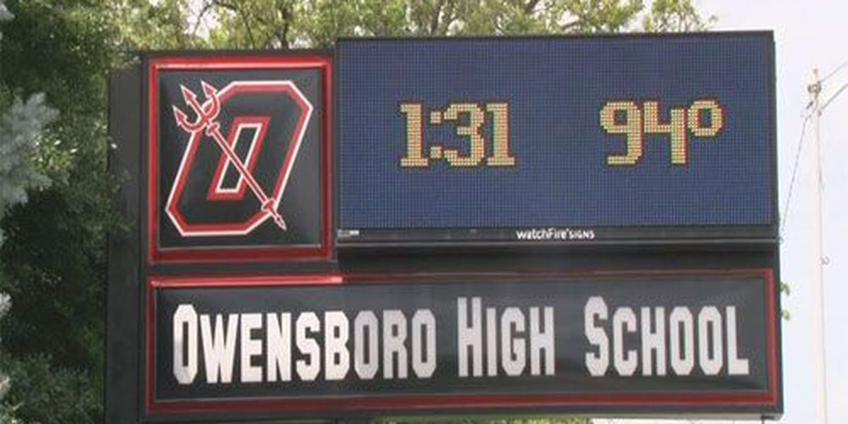 Owensboro High School schedules football practices to avoid heat