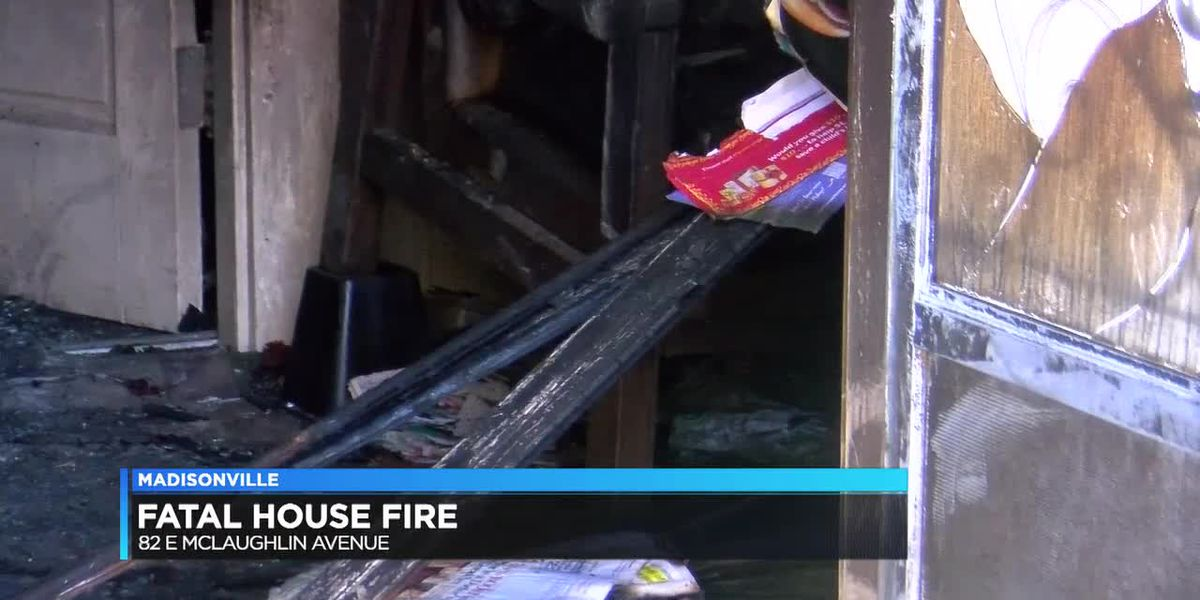 Man dies in Madisonville house fire