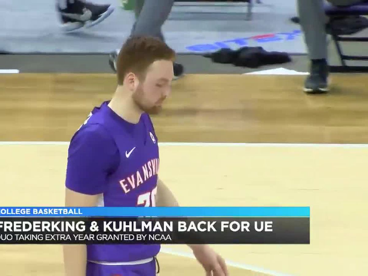 Frederking, Kuhlman returning to UE men's basketball for another season