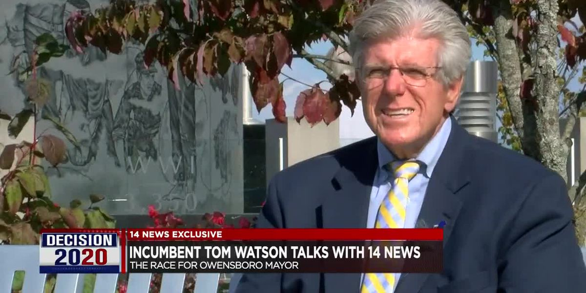 Owensboro Mayoral Race: Incumbent Tom Watson sits down with 14 News