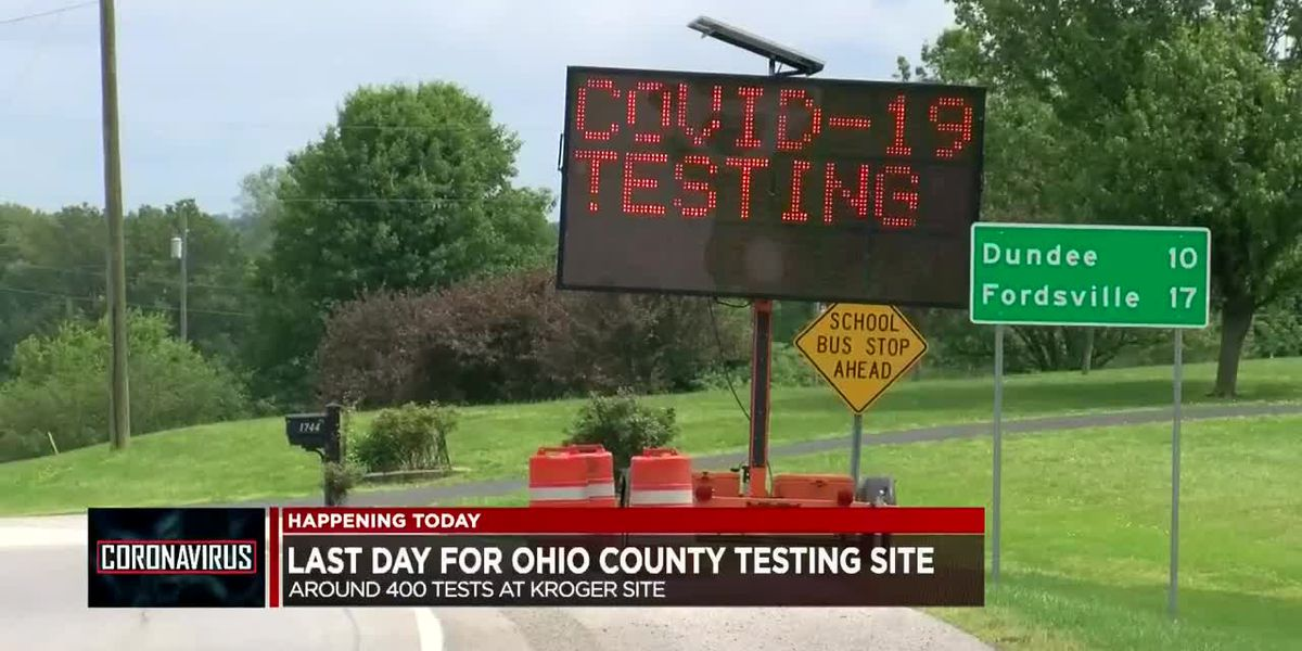 Last day for Ohio Co. COVID-19 testing site