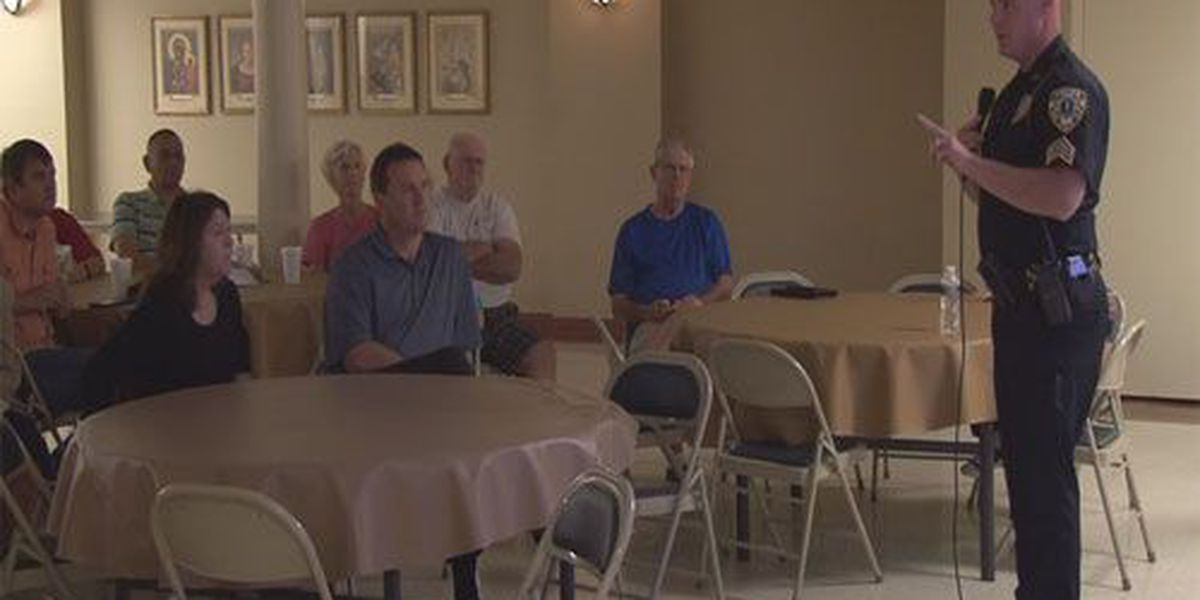 Pastors receive active shooter training from Owensboro Police