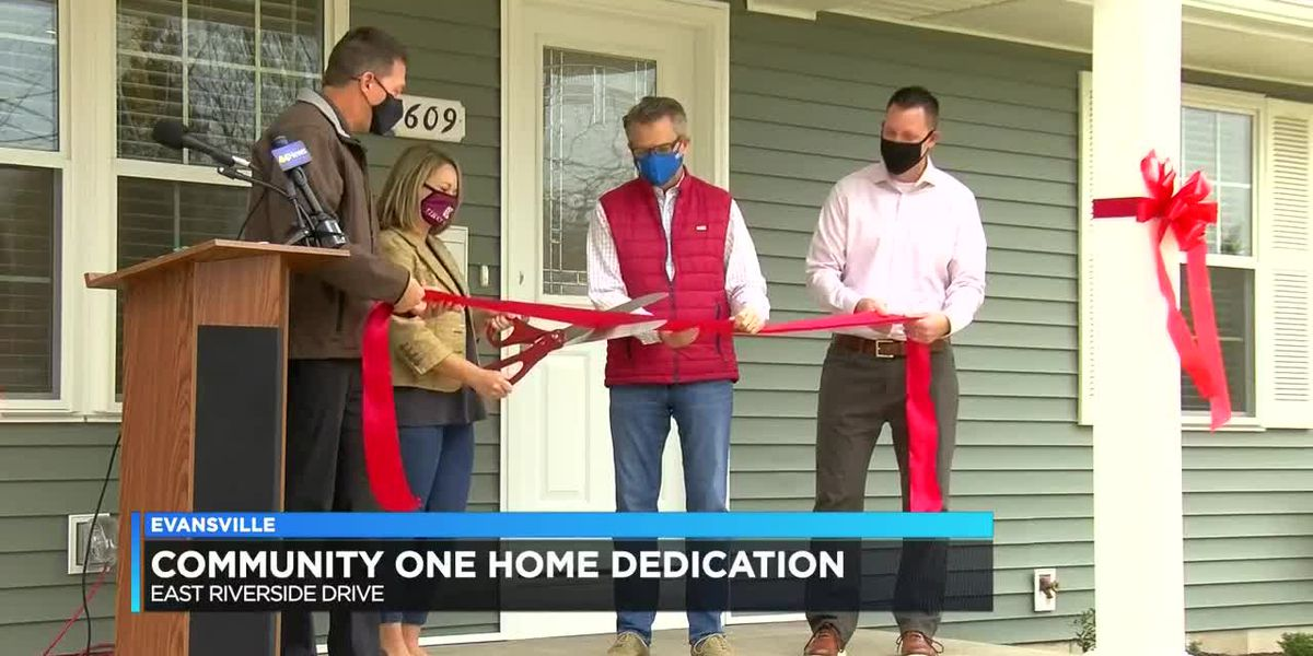 Community One dedicates newly renovated home in Evansville