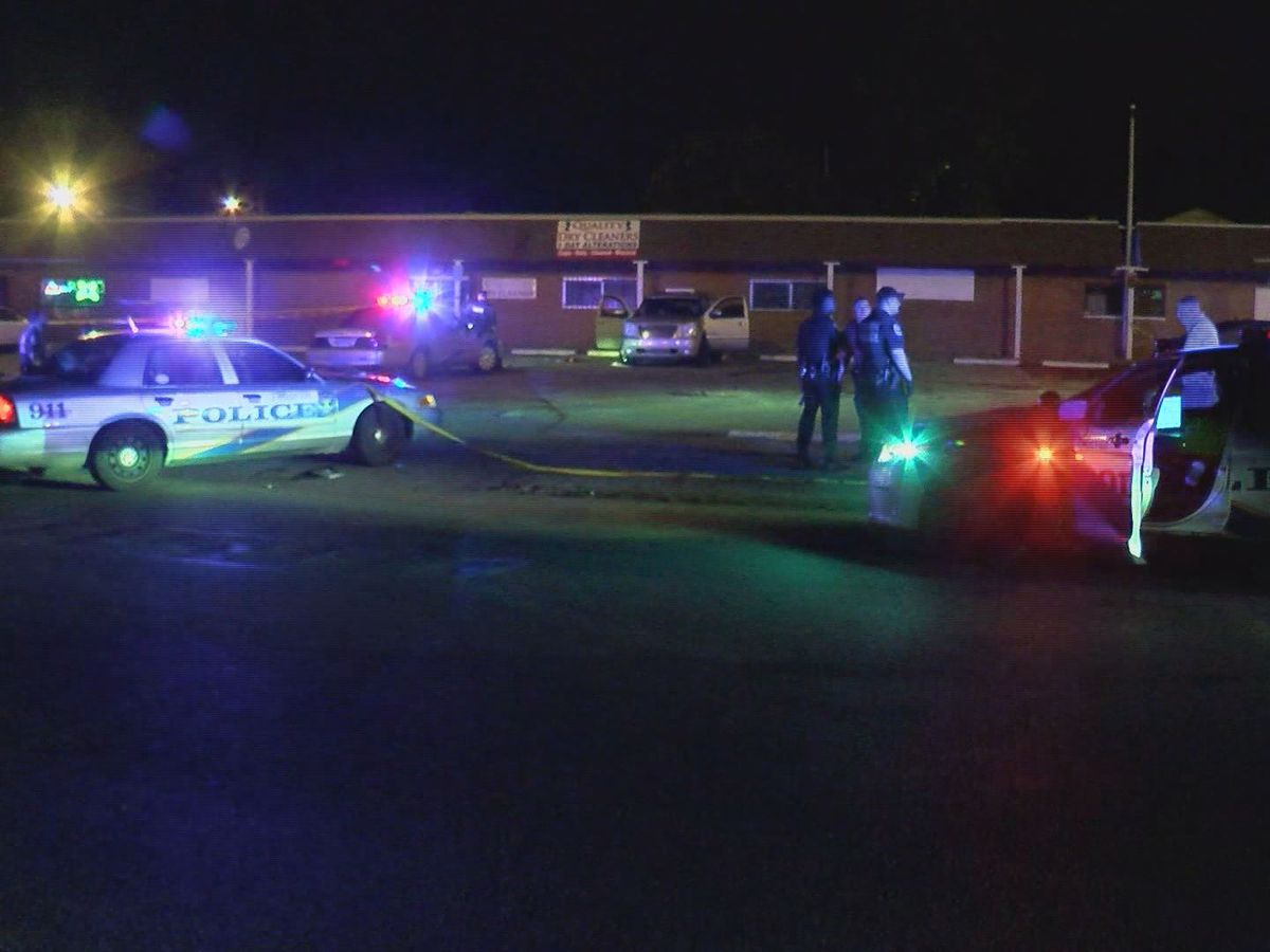1 dead, 8 injured in multiple overnight shootings in Louisville
