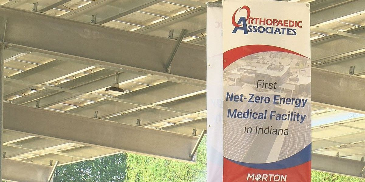 Newburgh healthcare facility holds solar panel ribbon-cutting ceremony